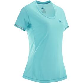Salomon Agile Løbe T-shirt Damer turkis